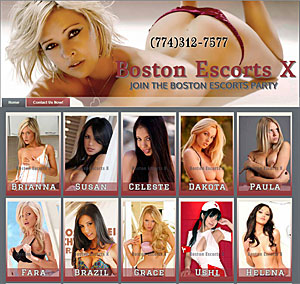 All about Boston escorts X and their women